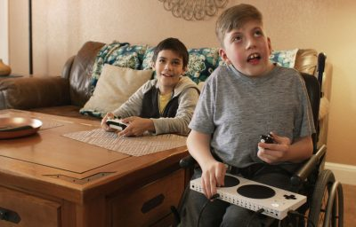 A Microsoft commercial centering on several kids with disabilities will air during the Super Bowl.
