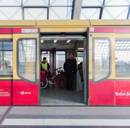 Accessible DB Bahn train