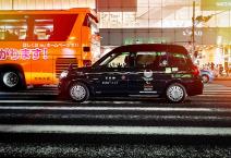 taxi in Shinjuku