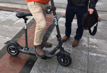e-scooter adpative