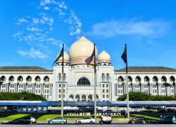 The Federal Court of Malaysia or Istana mahkamah, Putrajaya Malaysia