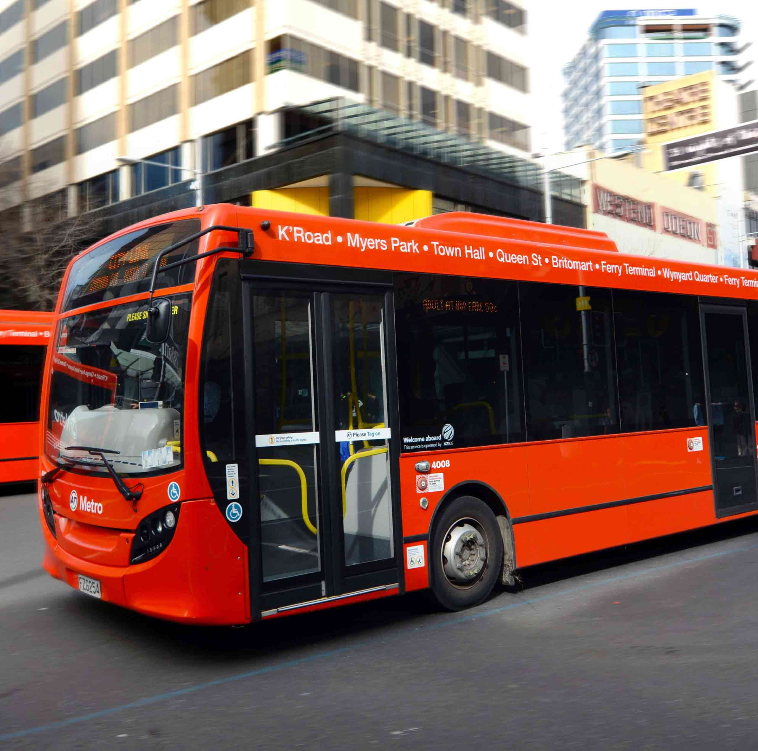 Auckland Accessible City Bus