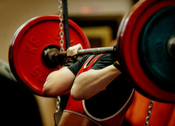 powerlifter squat barbell