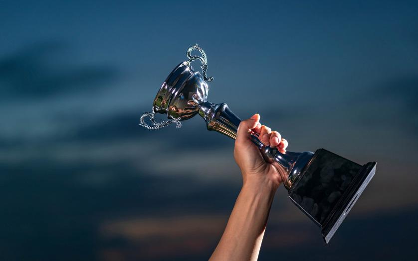 holding award