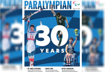 Paralympian Magazine cover