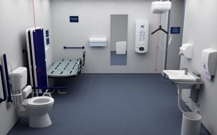changing places toilet facilities