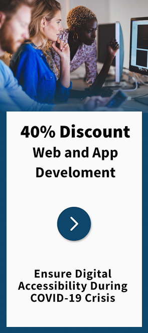 Techbility Web and App Discount Page external link