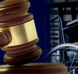 gavel with wheelchair