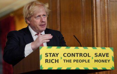 Boris Johnson the Prime Minister of the United Kingdom coronavirus briefings