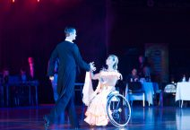 Anna Gorchakova-Igor Kiselev BELARUS, World Champions on Wheelchair Dance Sport perform Standard Program