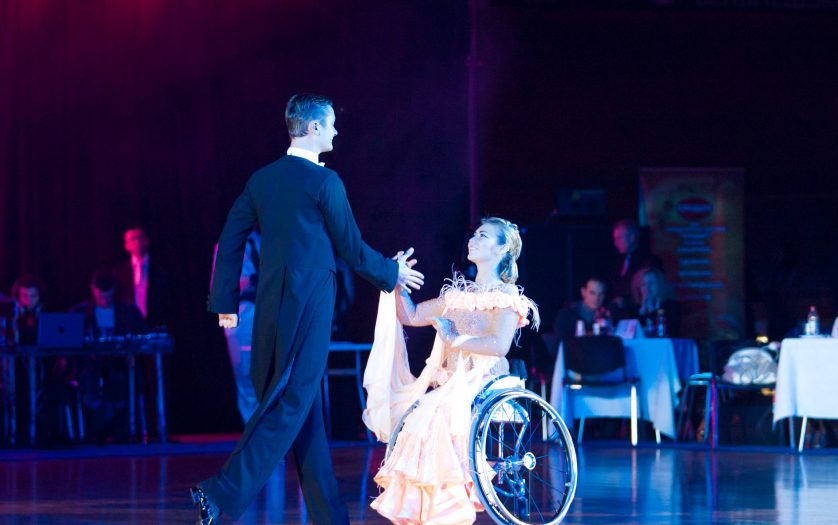Anna Gorchakova-Igor Kiselev BELARUS, World Champions on Wheelchair Dance Sport perform Standard Program