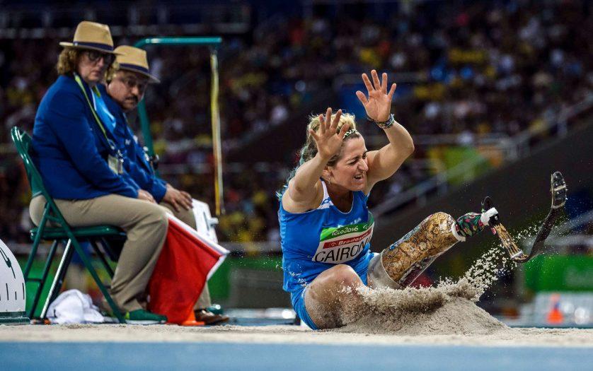 Paralympic game 2016 woman long jump - Martina Caironi