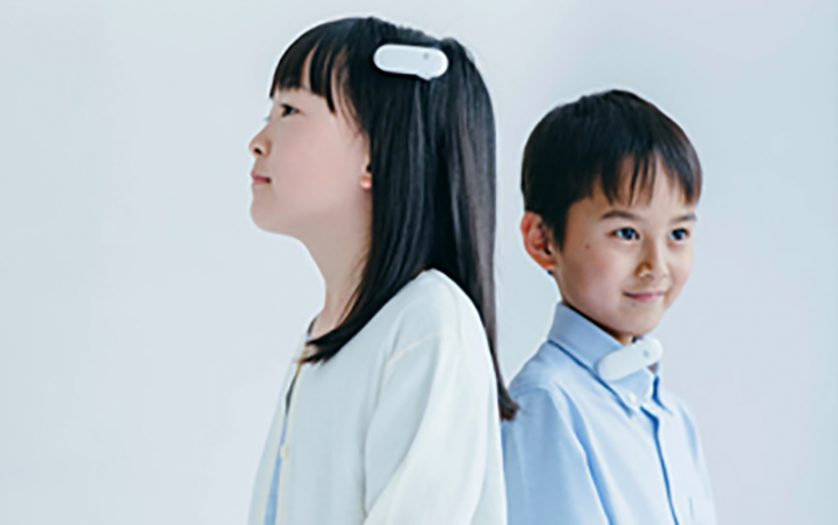 Kids using the device
