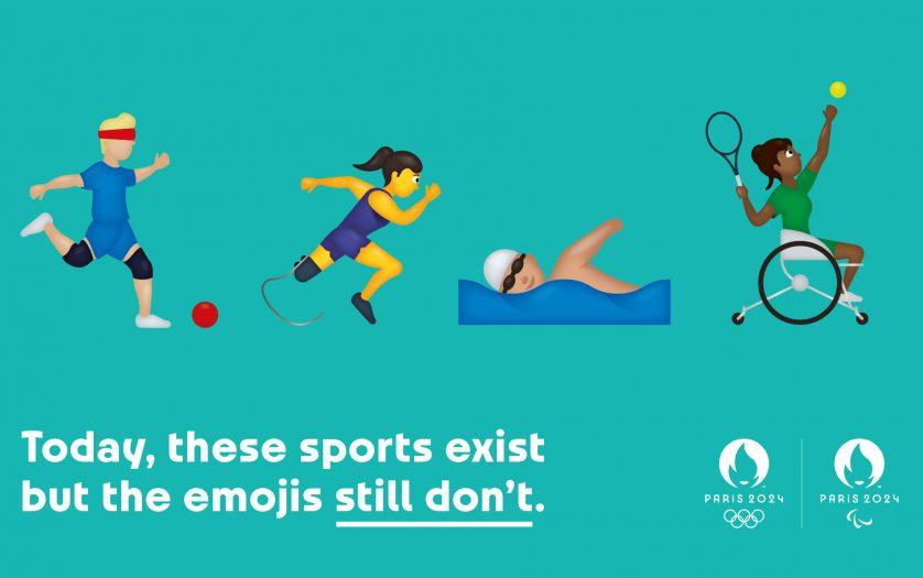 Paralympic sports emojis