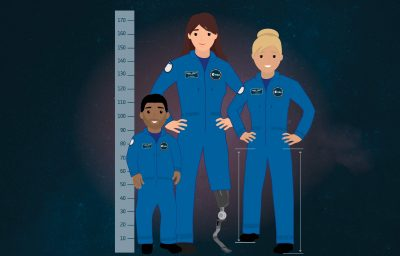 Astronaut selection parastronaut graphics