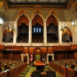 The House of Commons of Parliament Building, Ottawa, Canada