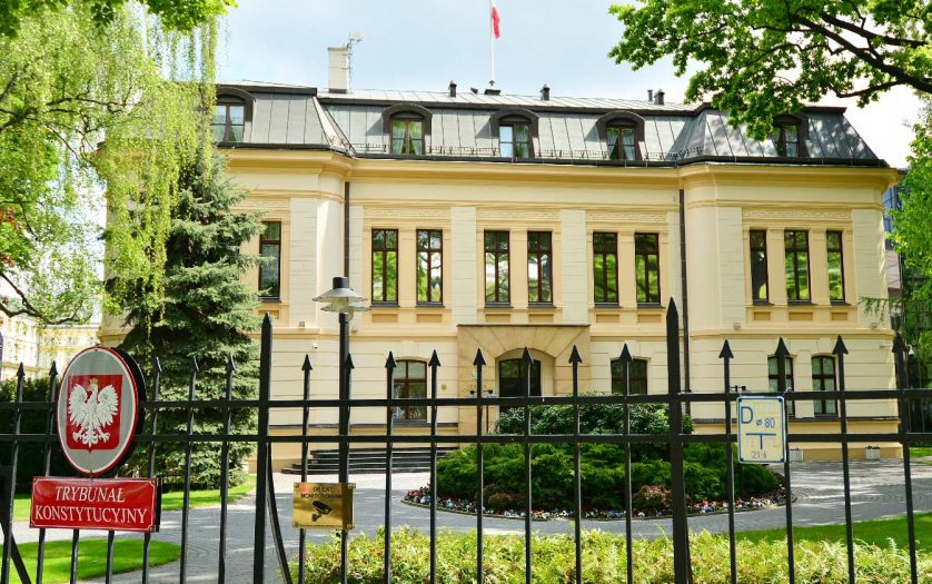 Building of the Constitutional Tribunal