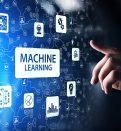 Machine Deep learning algorithms, Artificial intelligence AI , Automation and modern technology in business as concept