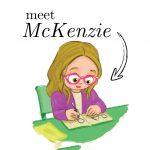 Book main character, McKenzie
