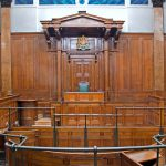 Crown Court room inside St Georges Hall,