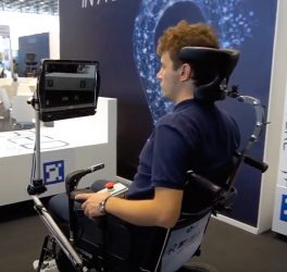 RoboEYE wheelchair