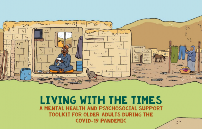 """""""Living with the Times"""" toolkit coverpage"""