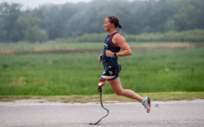 Melissa Stockwell, co-founder of Dare2tri