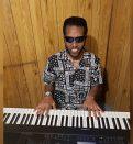 Nasir Khalil playing piano