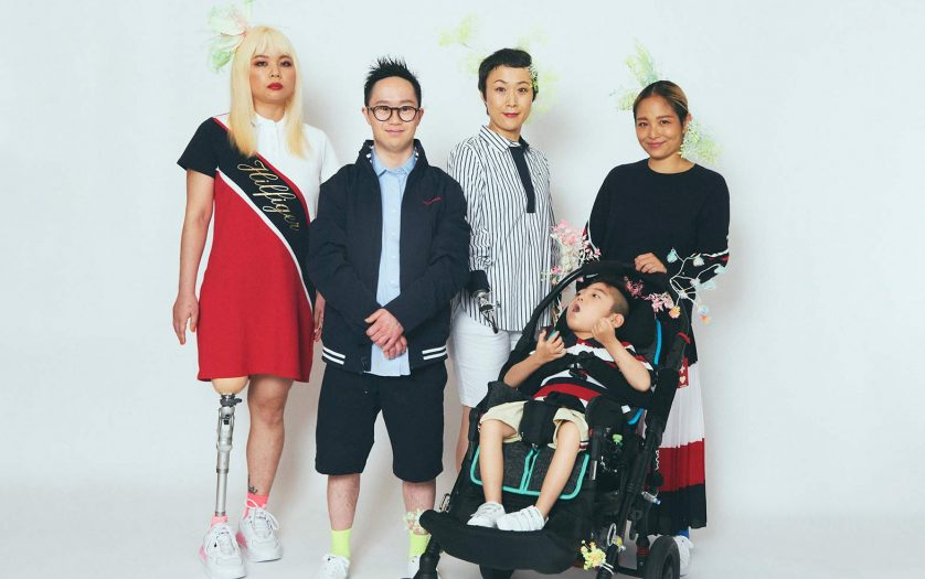 people wearing the adaptive clothing