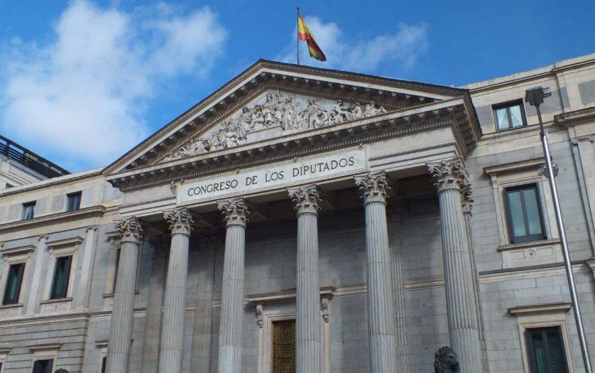 Spain Parliament building