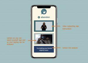 Educate-2 Translate app prototype screenshot