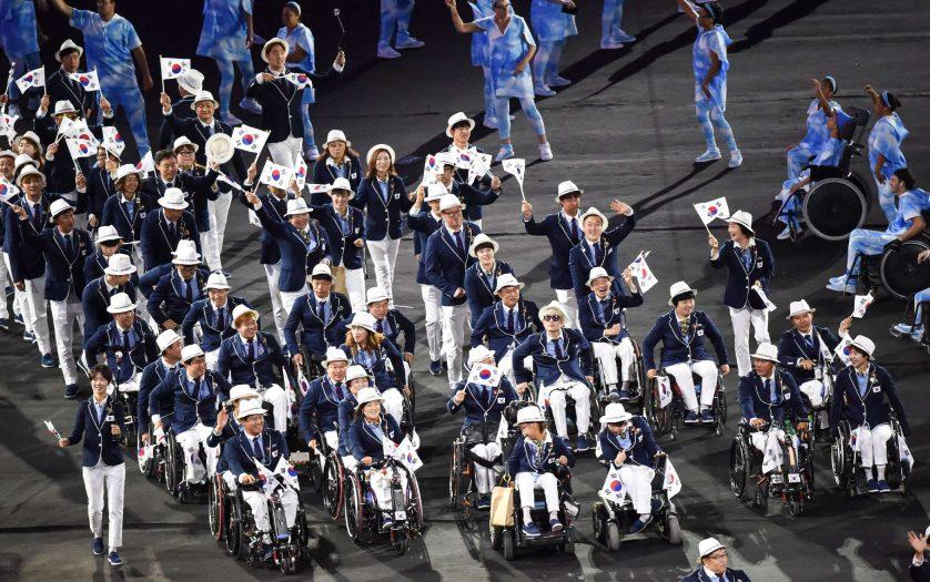Rio opening ceremony of the Paralympics Rio 2016 at Maracana Stadium