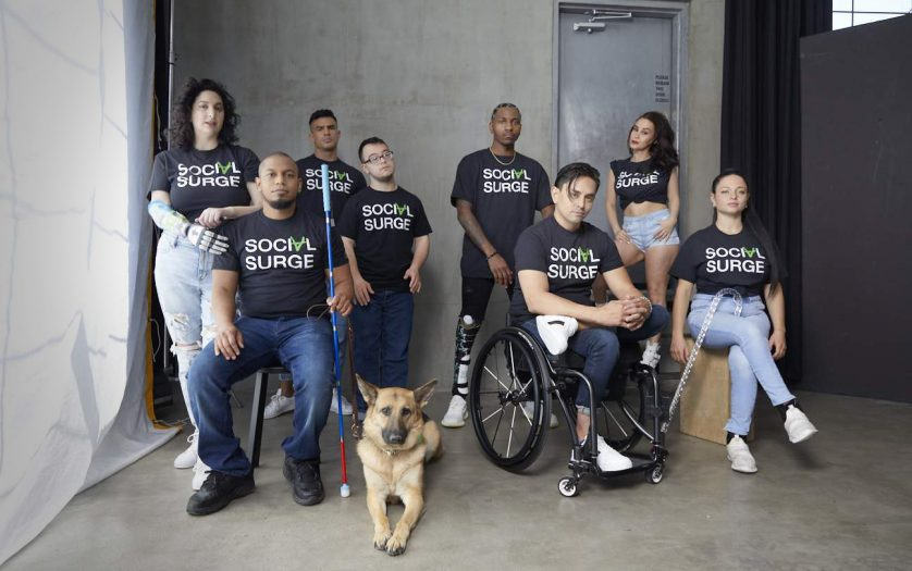 Group photo of persons with disabilities