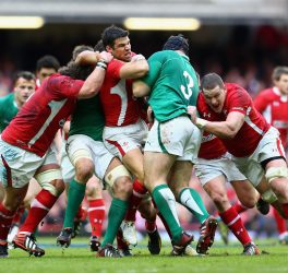 Ireland Vs Wales Rugby match